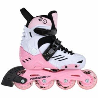 SKA940672 POWERSLIDE One Khaan Jr. LTD Pink Kinder Inlineskates Kids Skates Kinder Inliner Inline Skating Junior Skates Urban Skates Powerslide One Kids Skates Freestyle Slalom Skating Inliner Skateschule und Skateshop Weil am Rhein SkaMiDan
