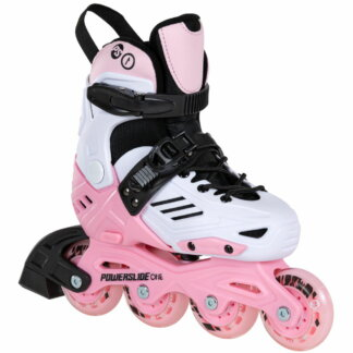SKA940672 POWERSLIDE One Khaan Jr. LTD Pink Kinder Inlineskates Kids Skates Kinder Inliner Inline Skating Junior Skates Urban Skates Powerslide One Kids Skates Freestyle Slalom Skating Inliner Skateschule und Skateshop Weil am Rhein SkaMiDan