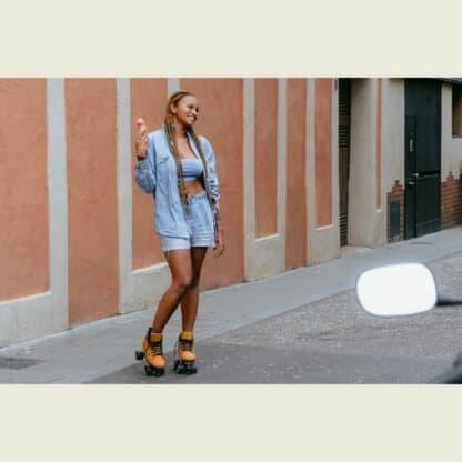 SKA810669 CHAYA Voyager Vintage Roller Skates Lifestyle Rollschuhe Chaya Quad Skates Dance Quad Skates Rollschuhe Tanz Rollschuhe Rollkunstlauf Rollschuhe Rollerskates Schwarze Rollschuhe Lifestyle Rollschuhe Roller Skating Quad Skating Skateschule und Skateshop Weil am Rhein SkaMiDan Lörrach Freiburg Basel Deutschland Germany