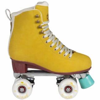 SKA810665 CHAYA Melrose Deluxe Amber Roller Skates | Lifestyle Rollschuhe Yellow Gelb Park Tanz Rollschuhe Barbie Park Quad Skates Roller Skates Lifestyle Rollschuhe Skatepark Rollschuhe Chaya Quad Skates Aggressive Quad Skates Rollschuhe Stunt Rollschuhe Rollkunstlauf Rollschuhe Rollerskates Schwarze Rollschuhe Lifestyle Rollschuhe Roller Skating Quad Skating Skateschule und Skateshop Weil am Rhein SkaMiDan Lörrach Freiburg Basel Deutschland Germany