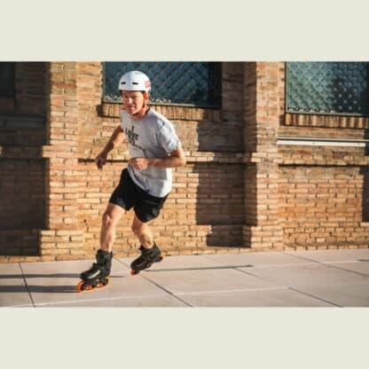 SKA880269 POWERSLIDE Zoom Rental 100 Black Orange Trinity X Urban Inlineskate Fitness Inlineskates Inlineskates Sport Inline Skates Rollerblades Urban Inline Skating Urban Inline Skating Freeskates Trainng Skates Strecken Skates Trinity Skates Einsteiger Beginner Inlineskates Inliner Fitness Inliner City Skates Fitness Inliner Sport Skates Sport Inliner Rollerblades Rollerblading Lörrach Freiburg Basel Inliner Skateschule und Skateshop Weil am Rhein SkaMiDan Deutschland Germany