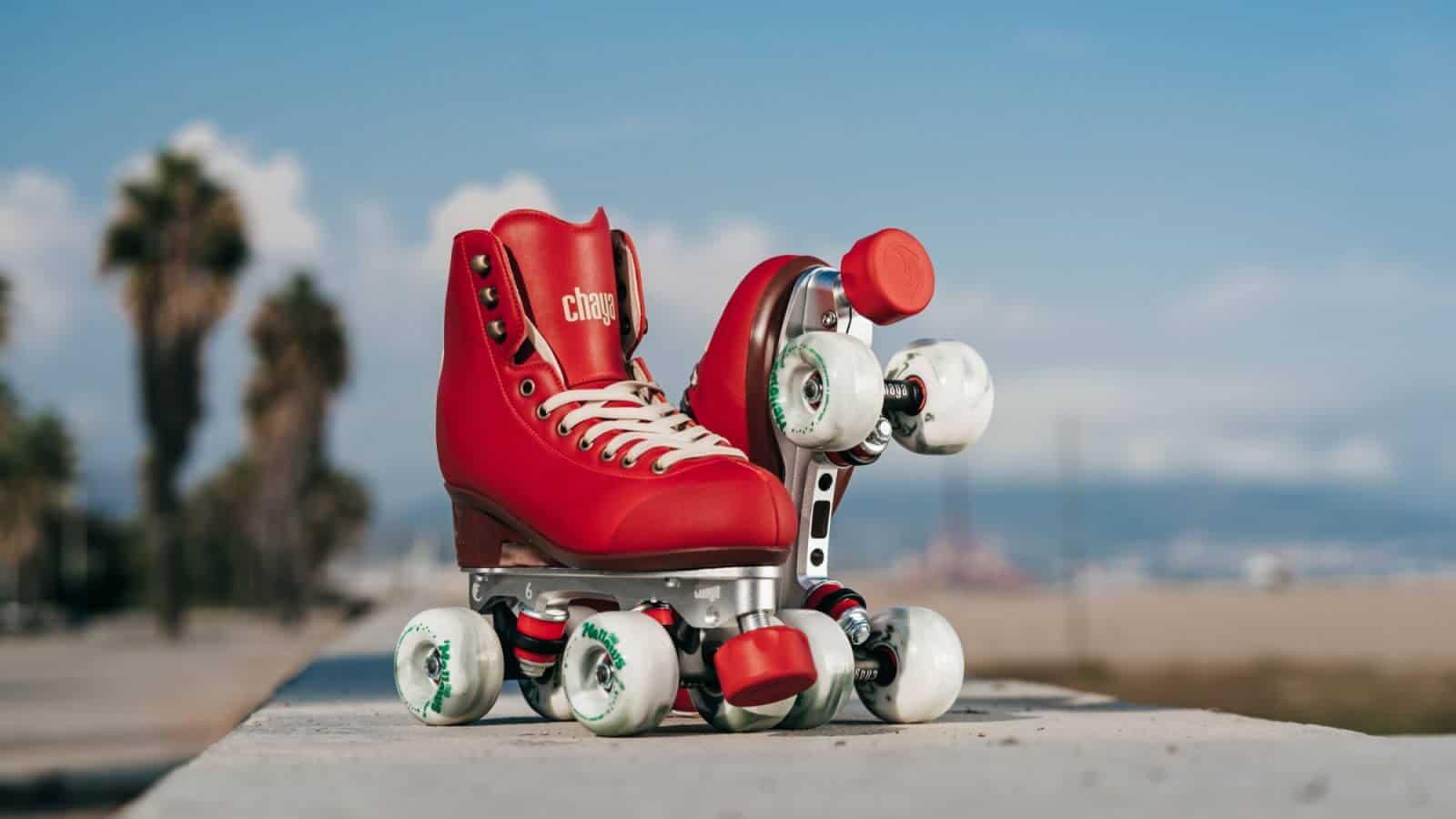 CHAYA Melrose Premium Berry Red Roller Skates