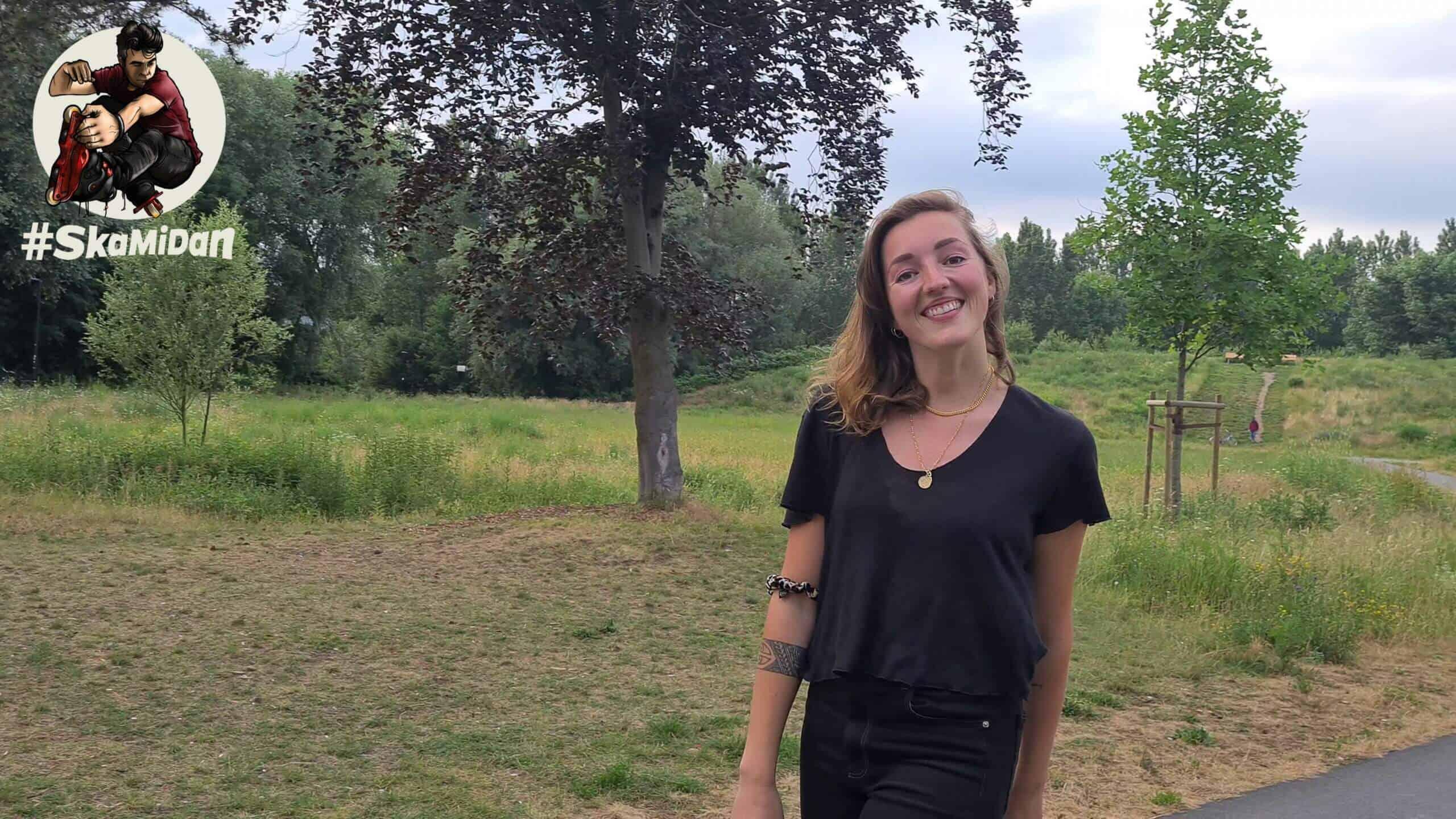 Julia Göke — SkaMiDan Skating Team Roller Skating Rollschuhe Team