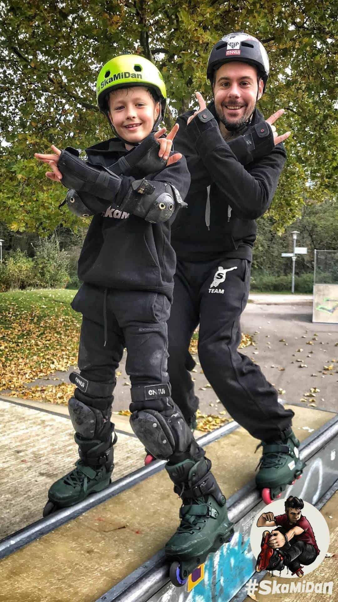 Jakob Esselmann — SkaMiDan Skating Team Aggressive Inline Skating Junior Boys Blader